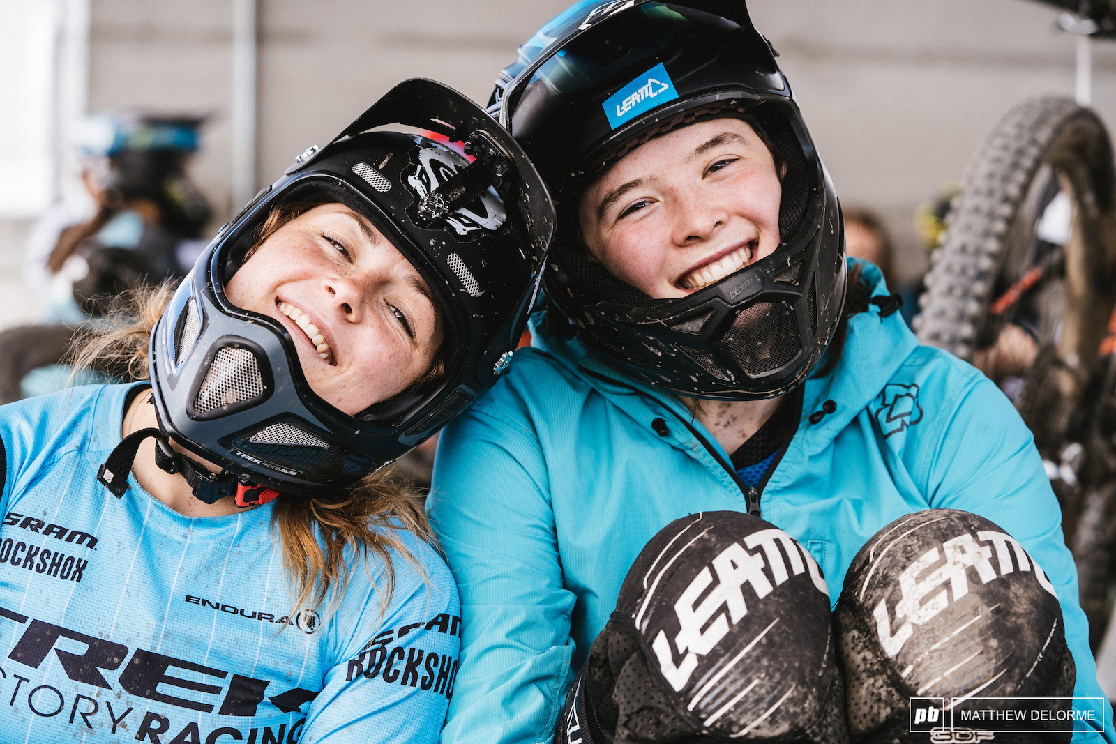 After a brutal first day of racing day two brought the smiles back.
