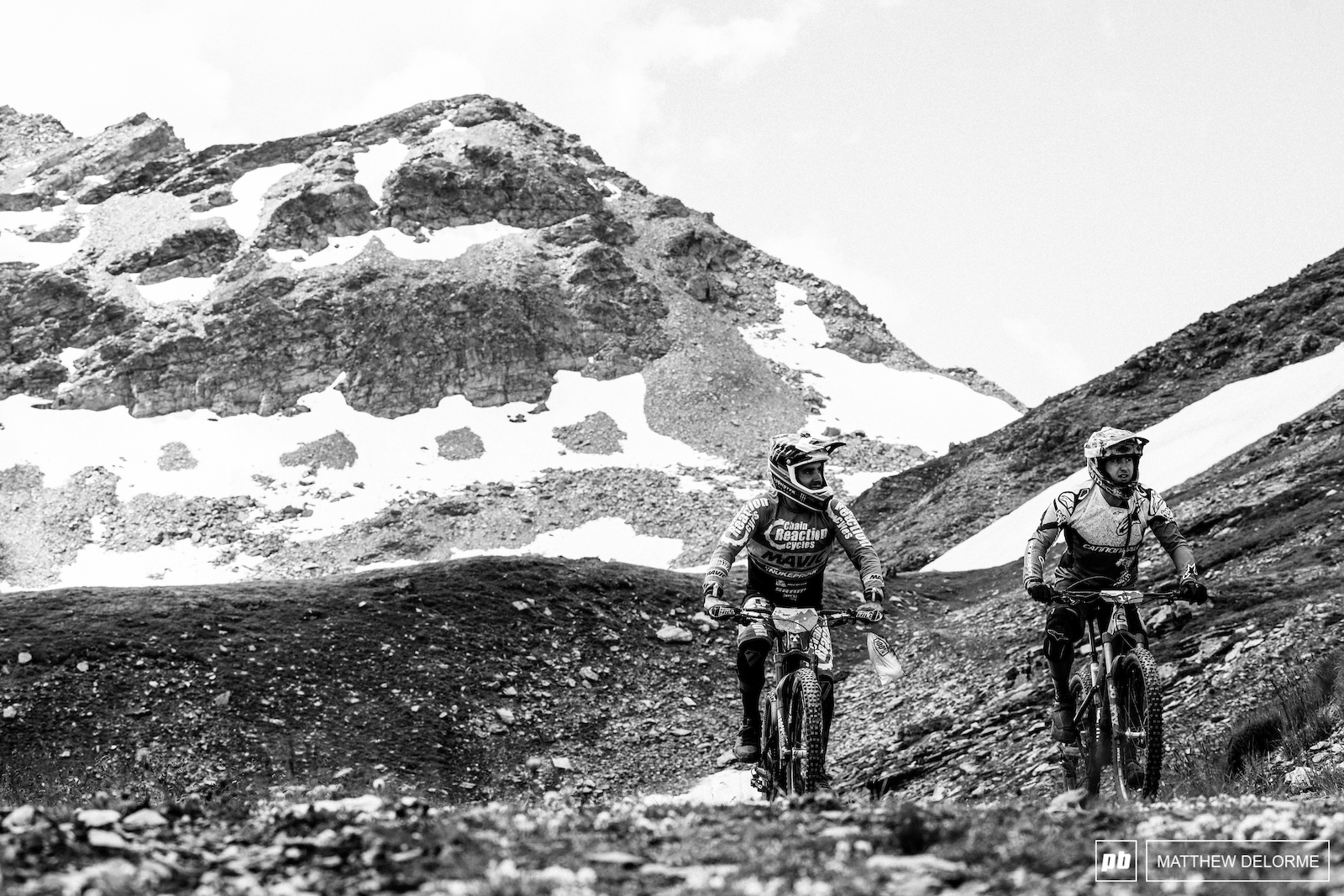 Hill and Osborne pedal up to stage five.