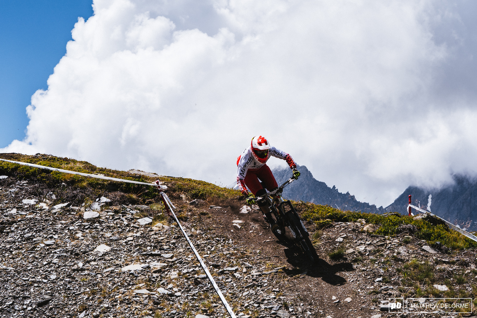 Jose Borges takes tenth here in La Thuile. Big weekend for the BH rider.