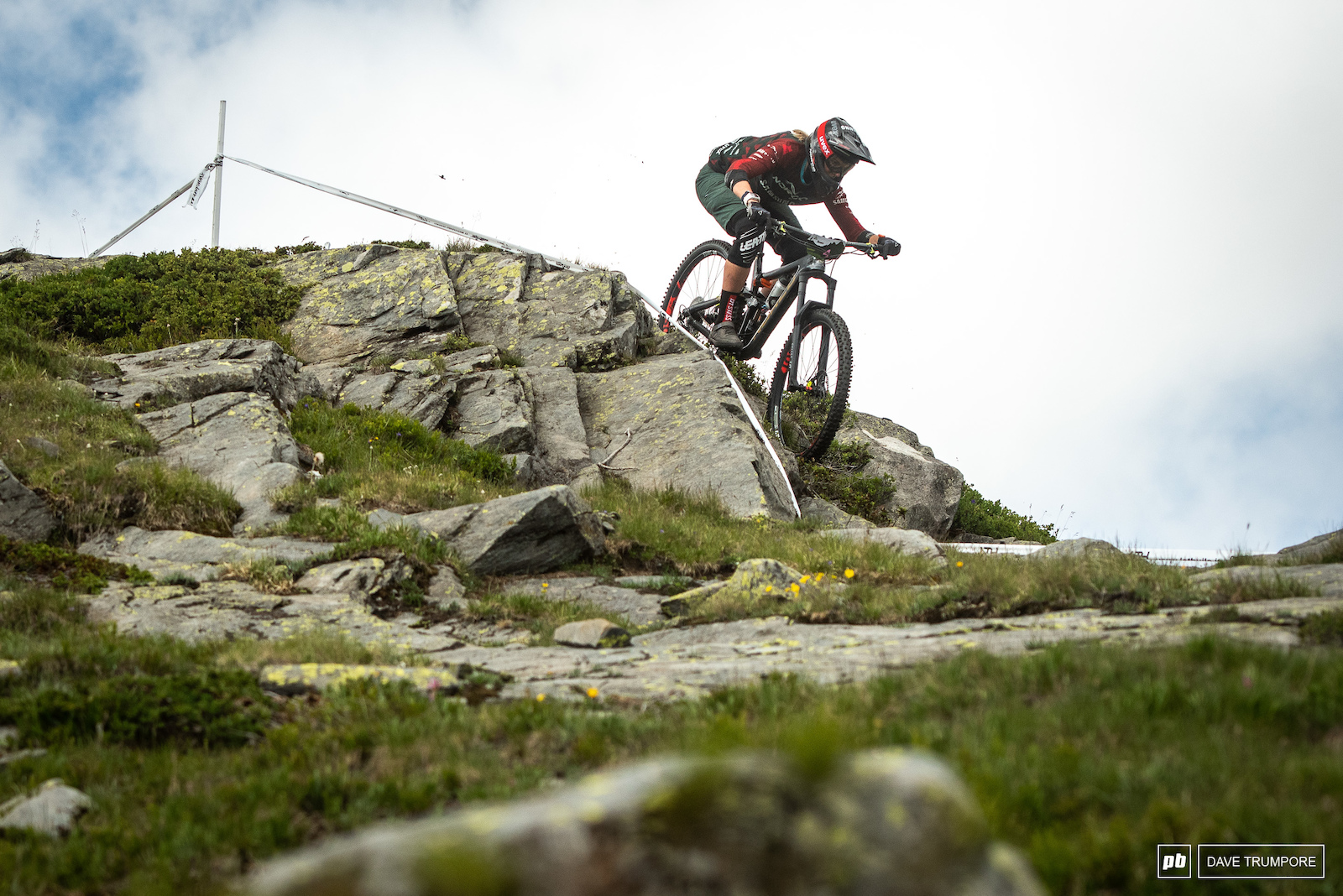 A great ride from Anita Gehrig landed her in 4th in La Thuile.