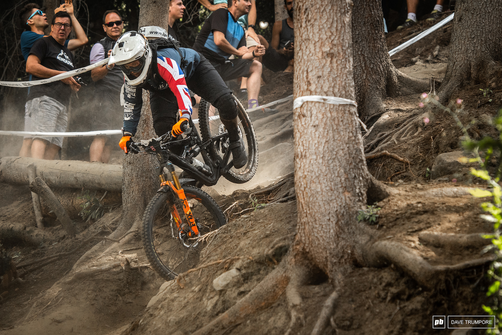 Sketchy moments for Bex Baraona on the final stage of the weekend.