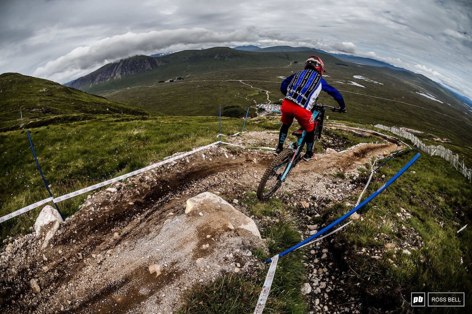 William Brodie hitting send on a tricky gap that caught out plenty of riders all weekend.
