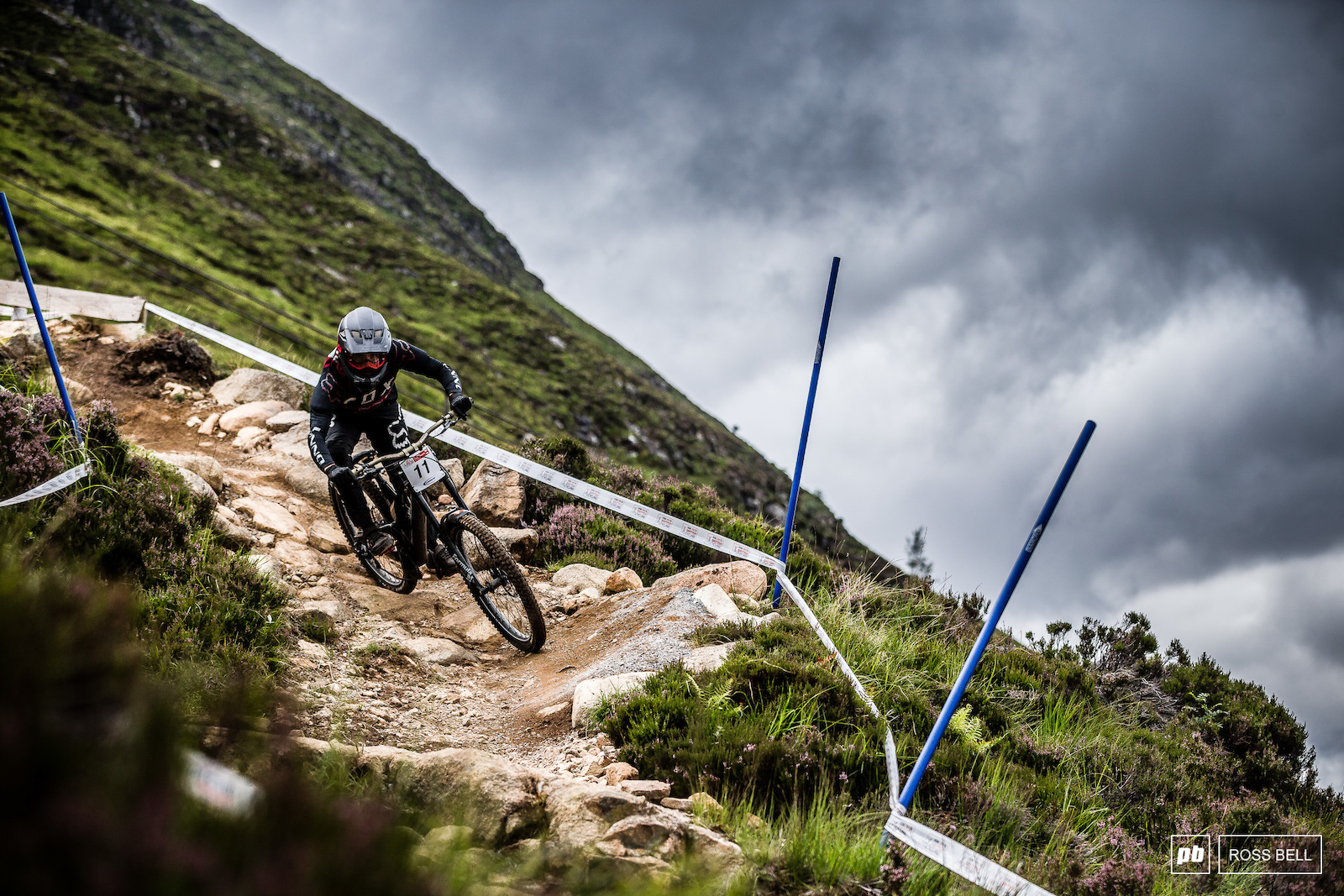 The weather couldn t really make up its mind this weekend. Taylor Vernon passes through oblivious to the moody skies.
