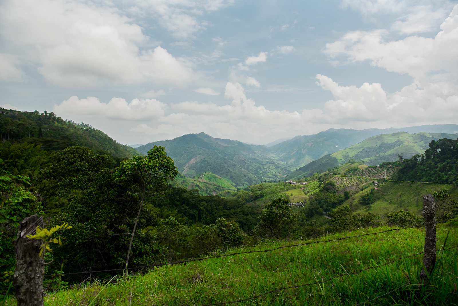 Round 2 in Colombia brought us to landscapes that could not be more opposite than the week before