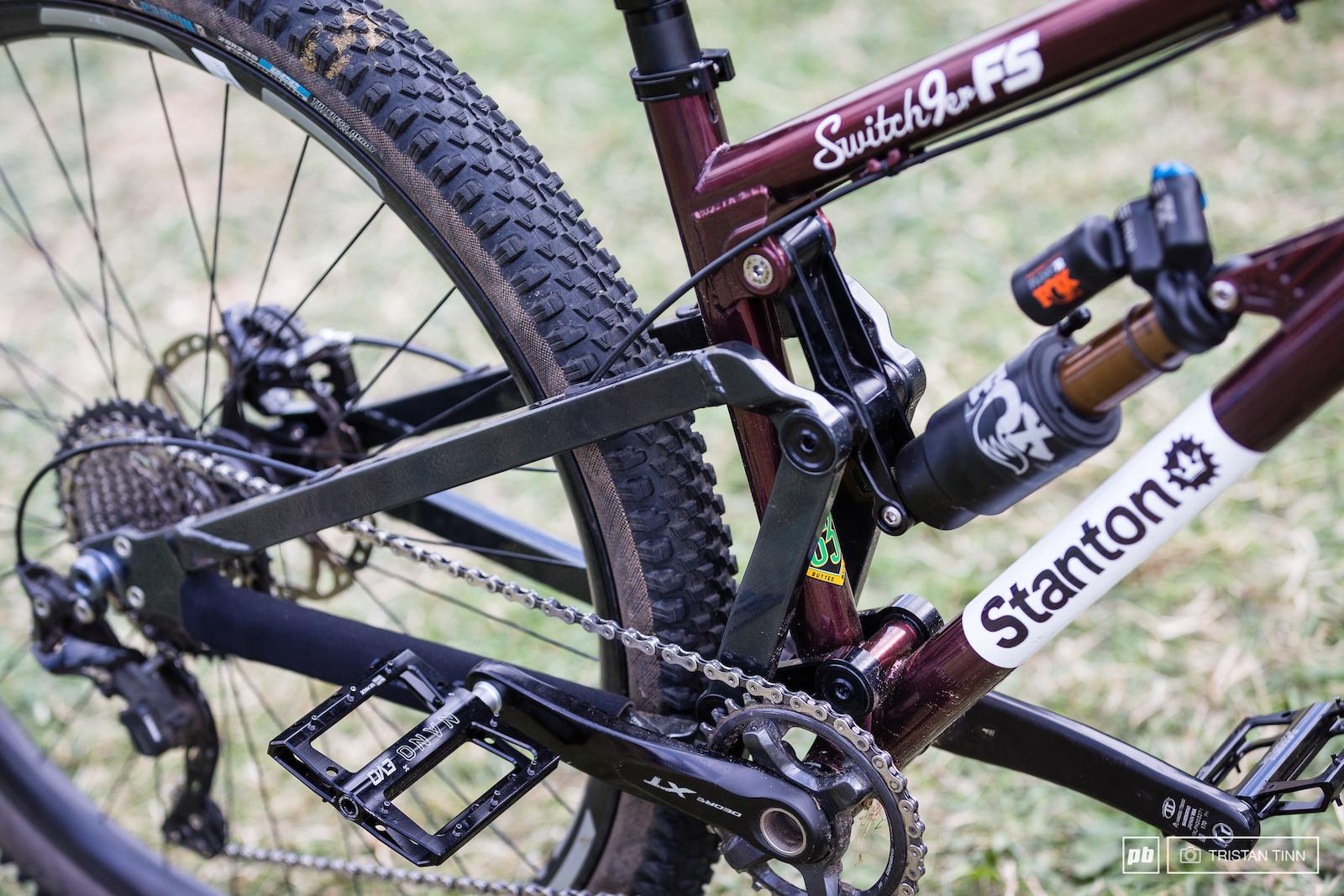 Stanton linkage detail