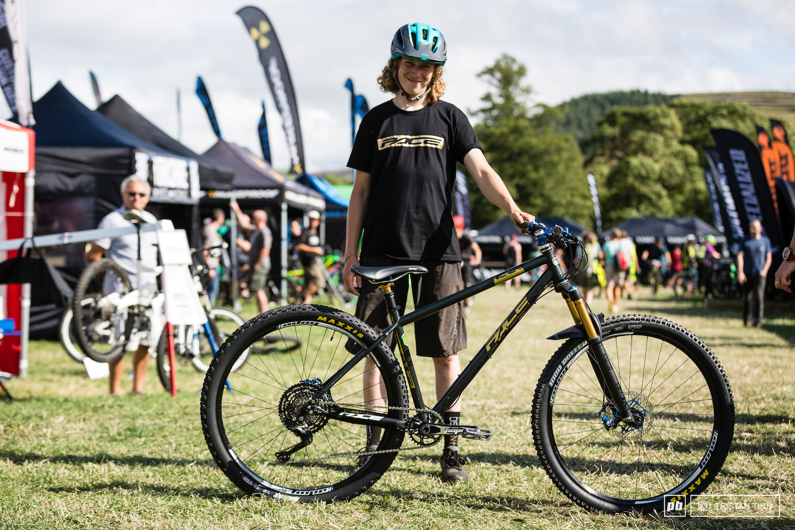 Ben Smith-Price and his Pace RC129 29er hardtail