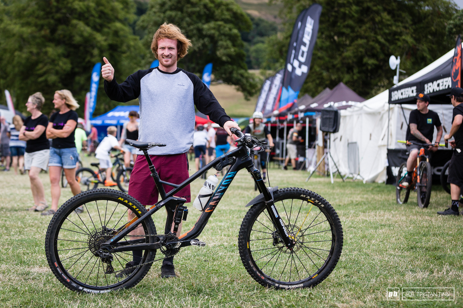 Liam Moynihan and his Canyon Strive