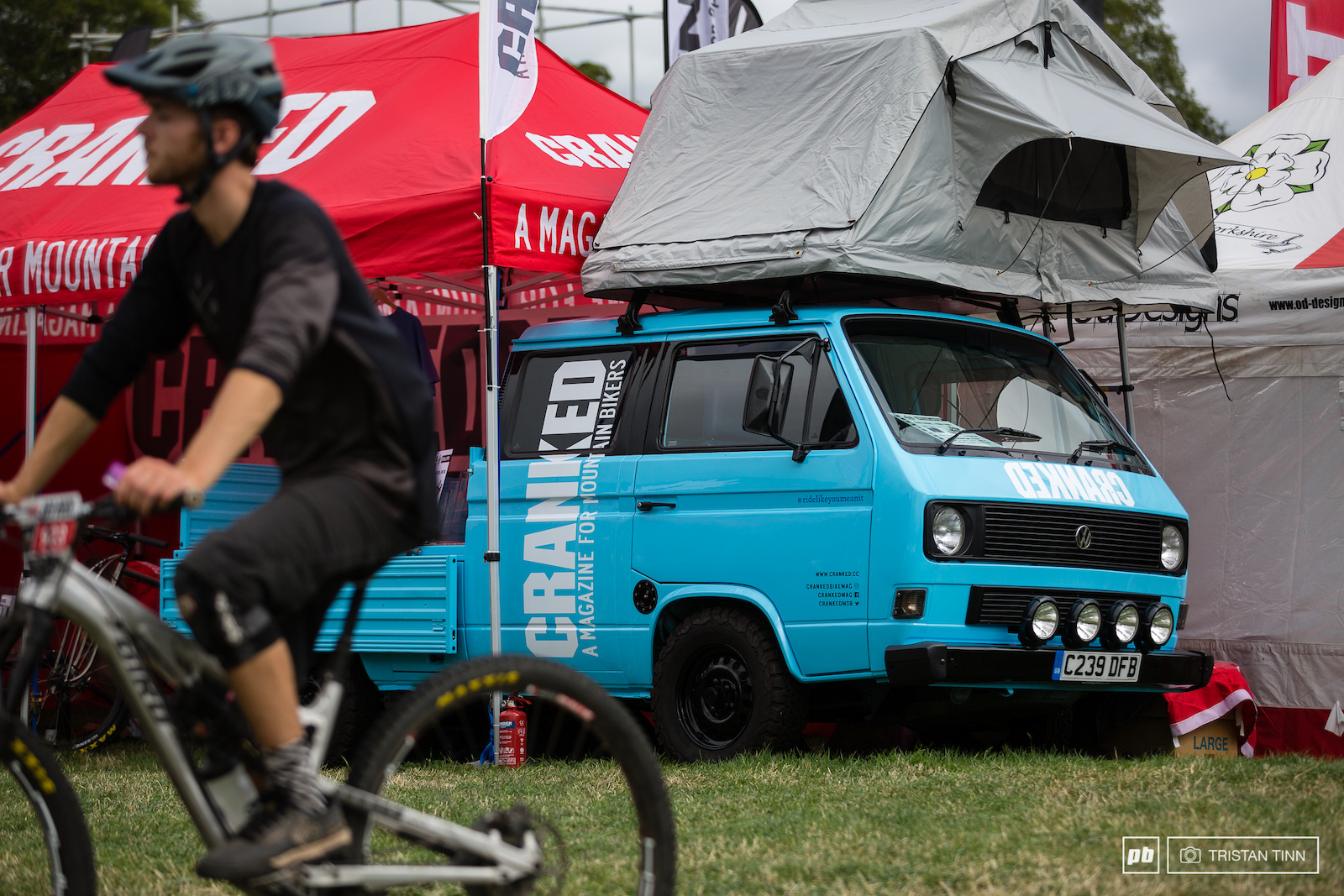 The trade expo had all sorts of delights on offer to keep bike fanatics and family happy on or off the trails