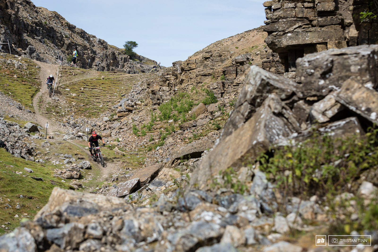 Plenty more rocks as Stage 3 cut through old mine workings