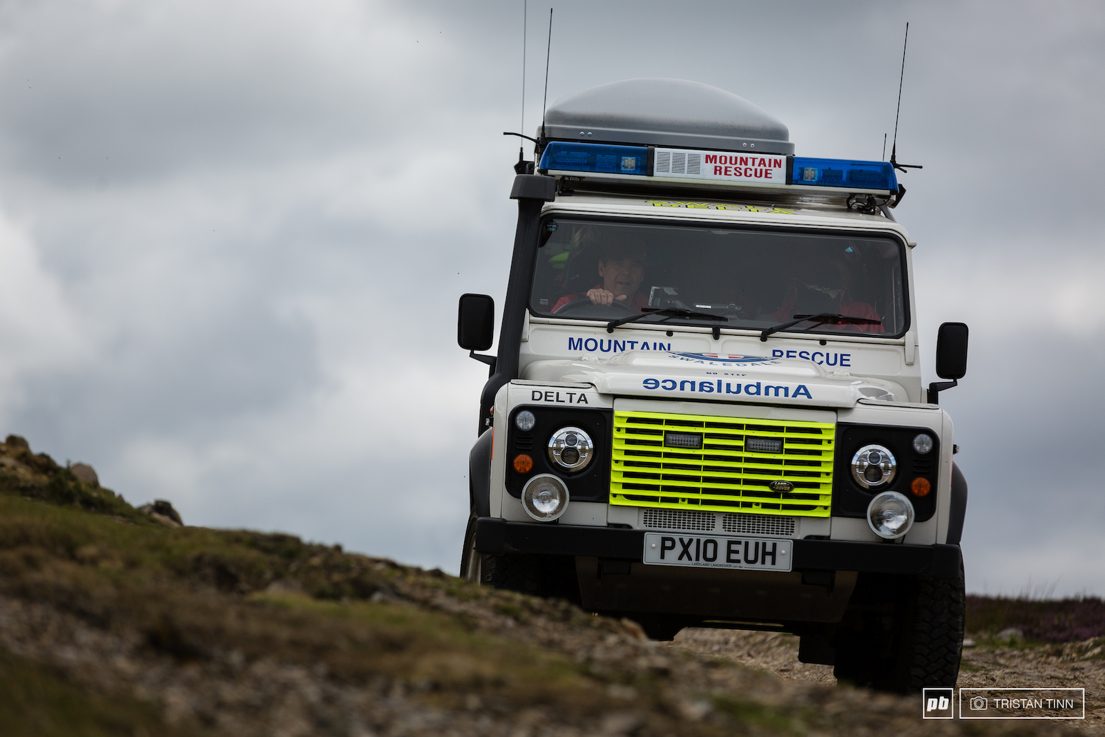 Swaledale MRT were on site to mop up any casualties give a hand to these volunteers.