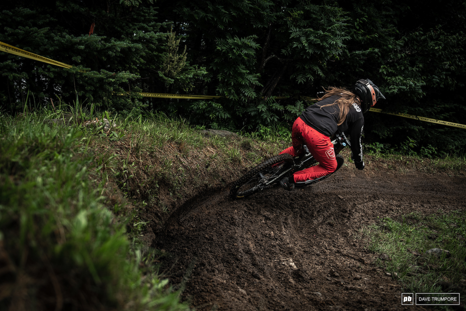Raining ruts and keeping it rubber side down on a track that caused numerous crashes Vaea Verbeeck would take the US Open Women s title by an 8 second margin.