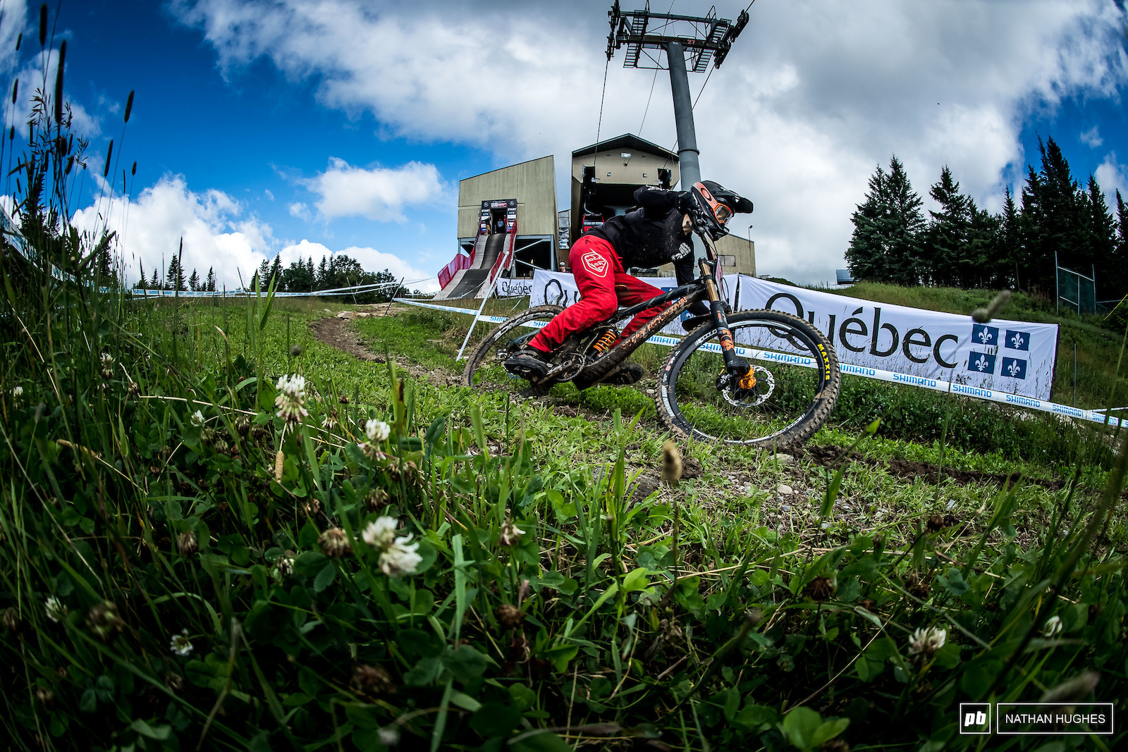 Unfotruntaely Vaea Verbeeck had less than no luck today on home soil flatting as an unprotected rider.