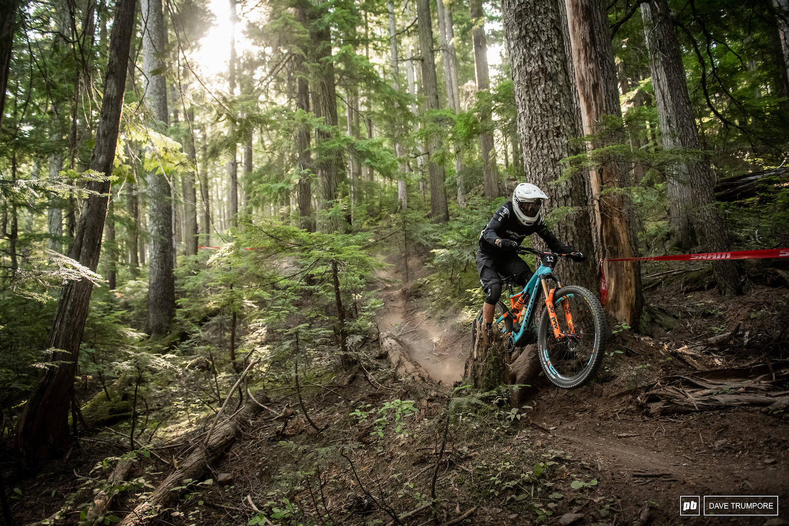 Thomas Lapeyrie has been on a roll late in the season and will be looking leave his mark on Whistler s dry and dusty trails.