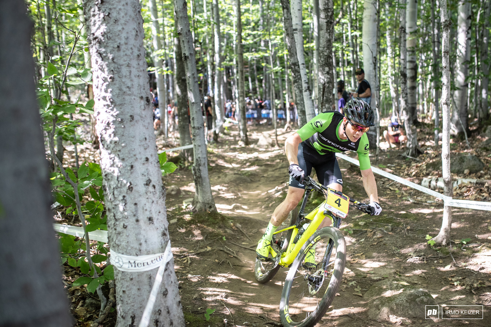 Maxime Marotte has been on a mission this year. Marotte challenged the podium but had to settle for 4th.