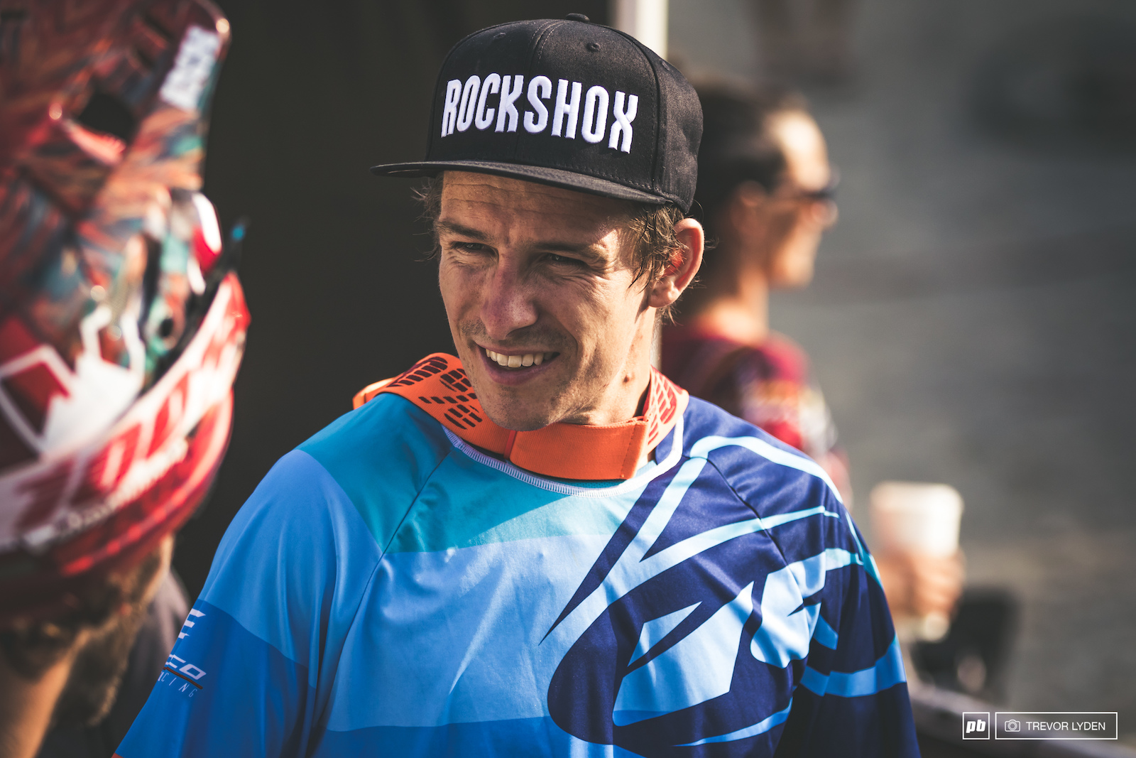 Sam Blenkinsop took fourth in Air DH and finds himself leading the charge for King of Crankworx.