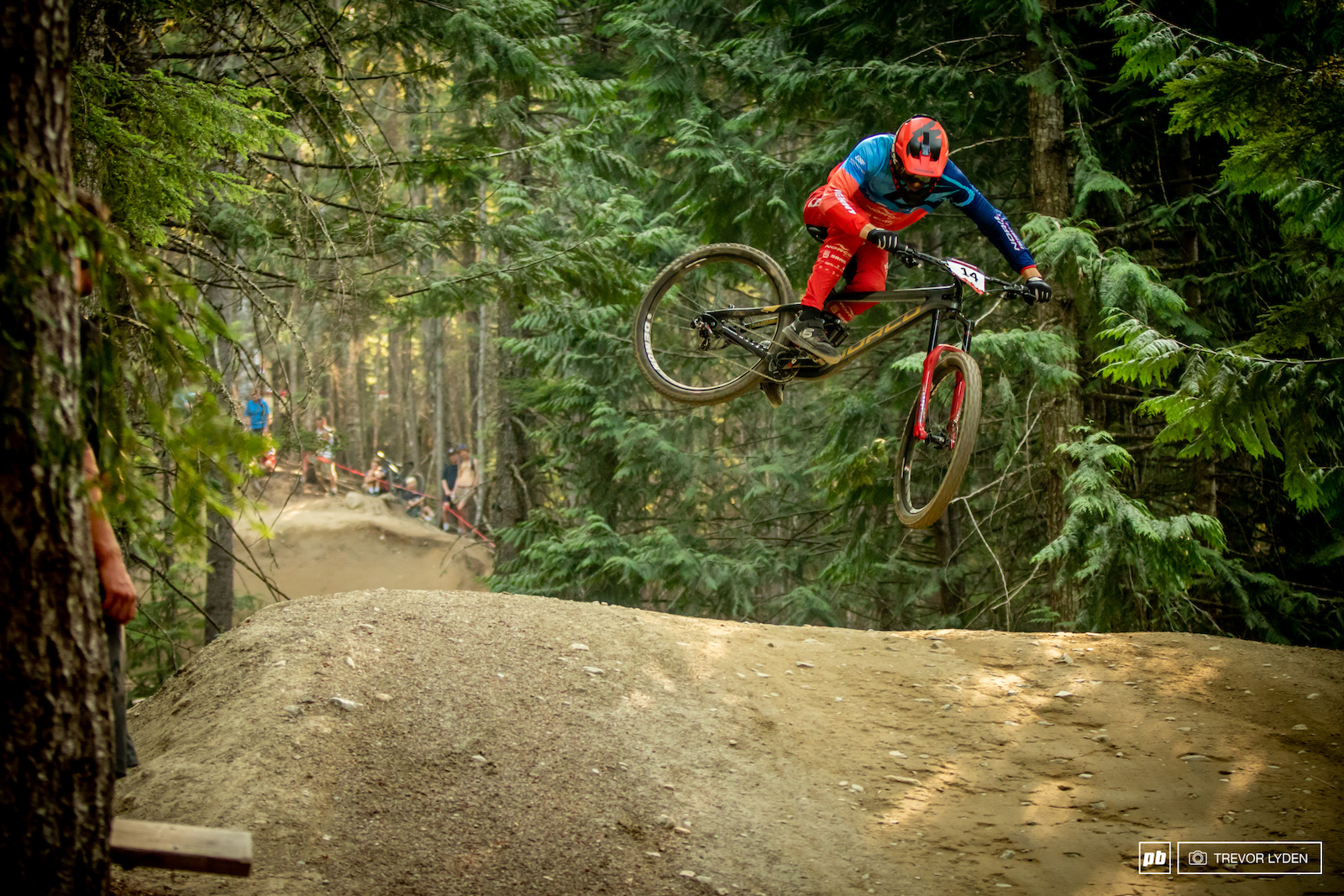 BC local Henry Fitzgerald has spent a long time riding in Whistler. His top 10 finish proved that the practice has paid off.