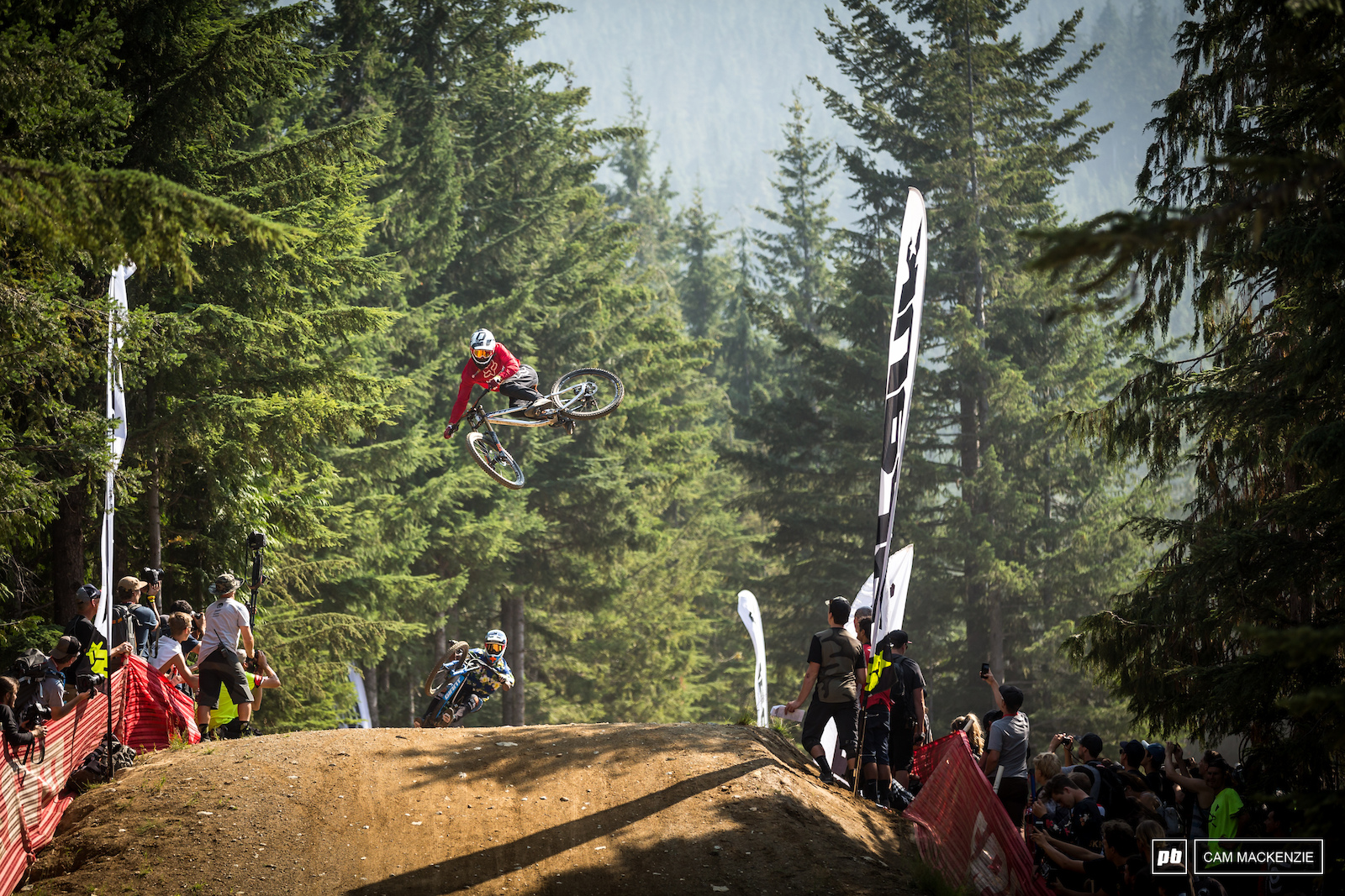 Bas was keeping things perfectly sideways while the other van Steenbergen bother was flipping his way down Crabapple