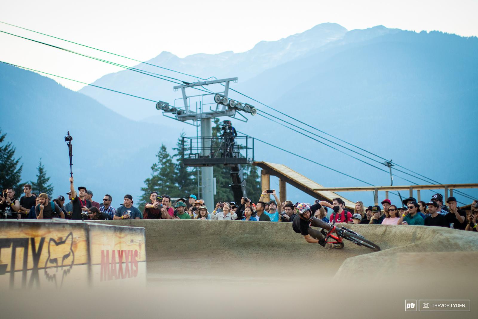 Pump Track Challenge - Crankworx Whistler 2018
