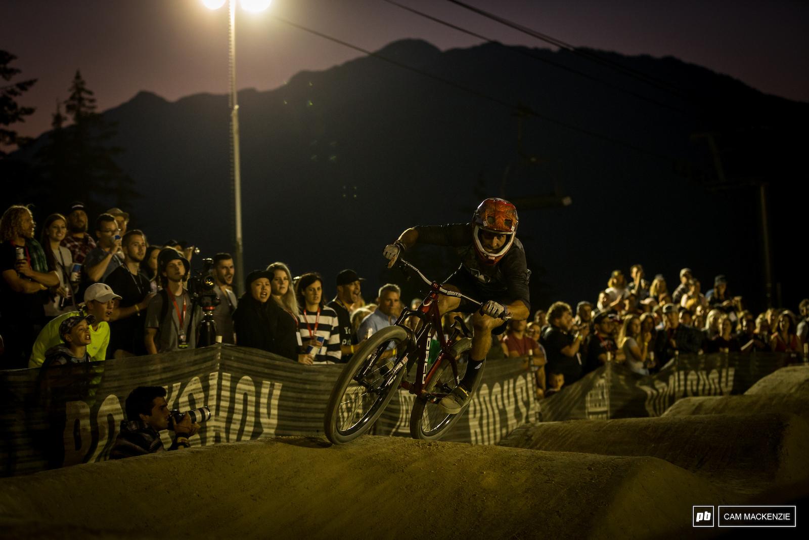 Crankworx Whistler 2018 Rockshox Ultimate Pumptrack Challenge.