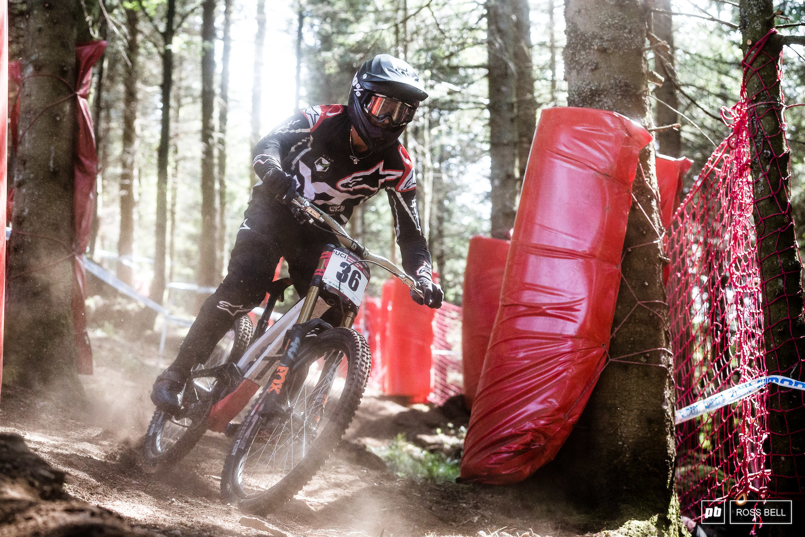 After a career best 9th in MSA last time out Angel Saurez was looking strong on track once again. The Spaniard has a tonne of style especially when his wheels leave the ground