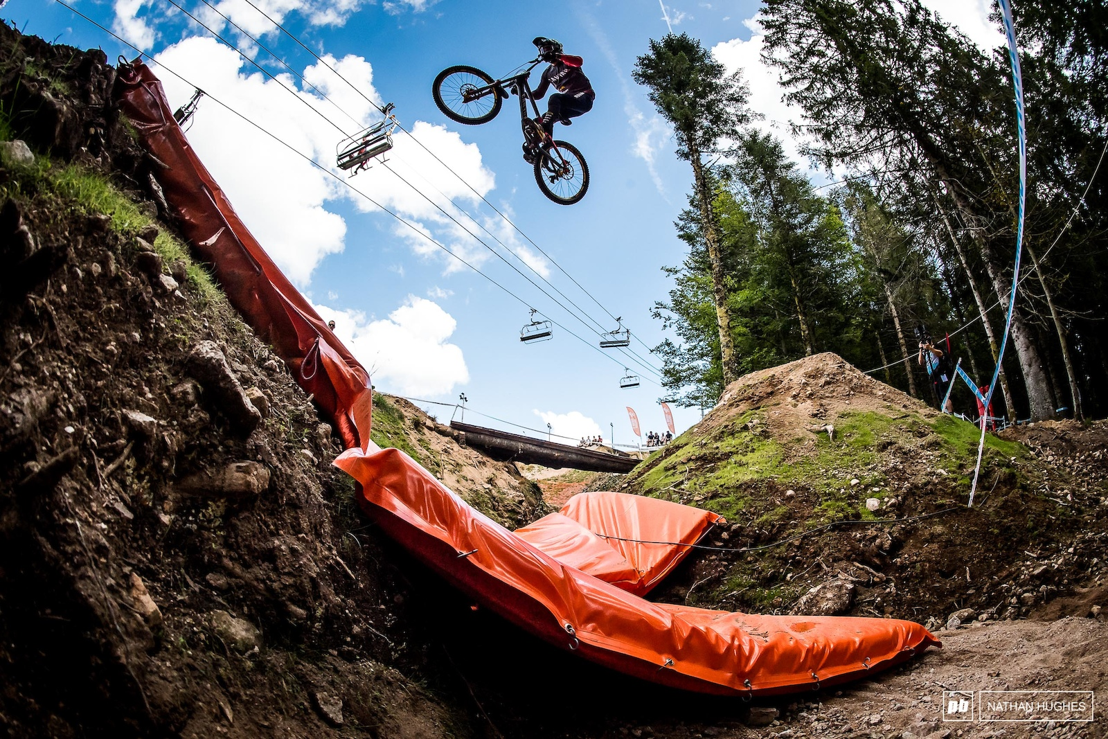 Up and over with Mark Wallace.