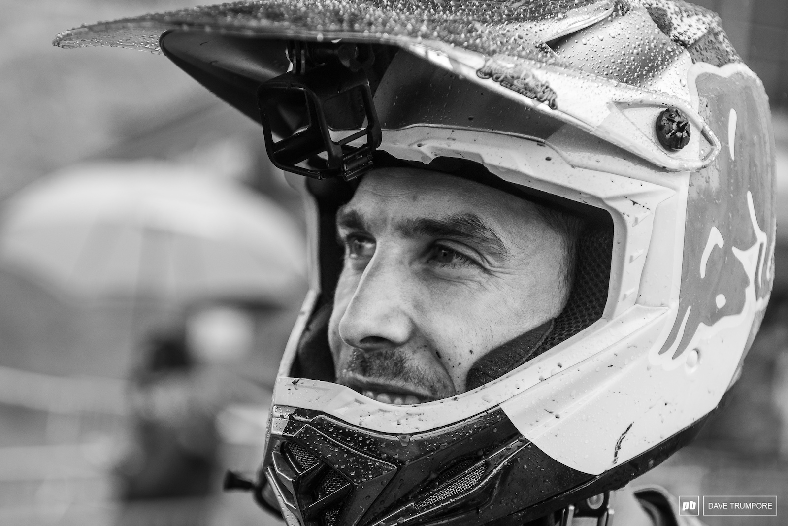 Gee Atherton has found his form once again and played down a blistering run to finish first in qualifying just ahead of Amaury Pierron and Remi Thirion .