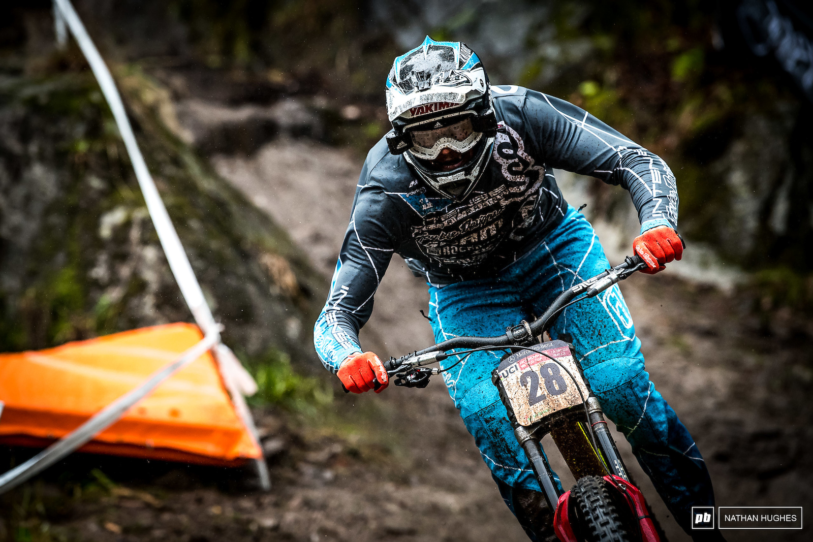 Jack Moir has a strong mud game but as no points were at stake for qulaies he ll have been biding his time for finals.