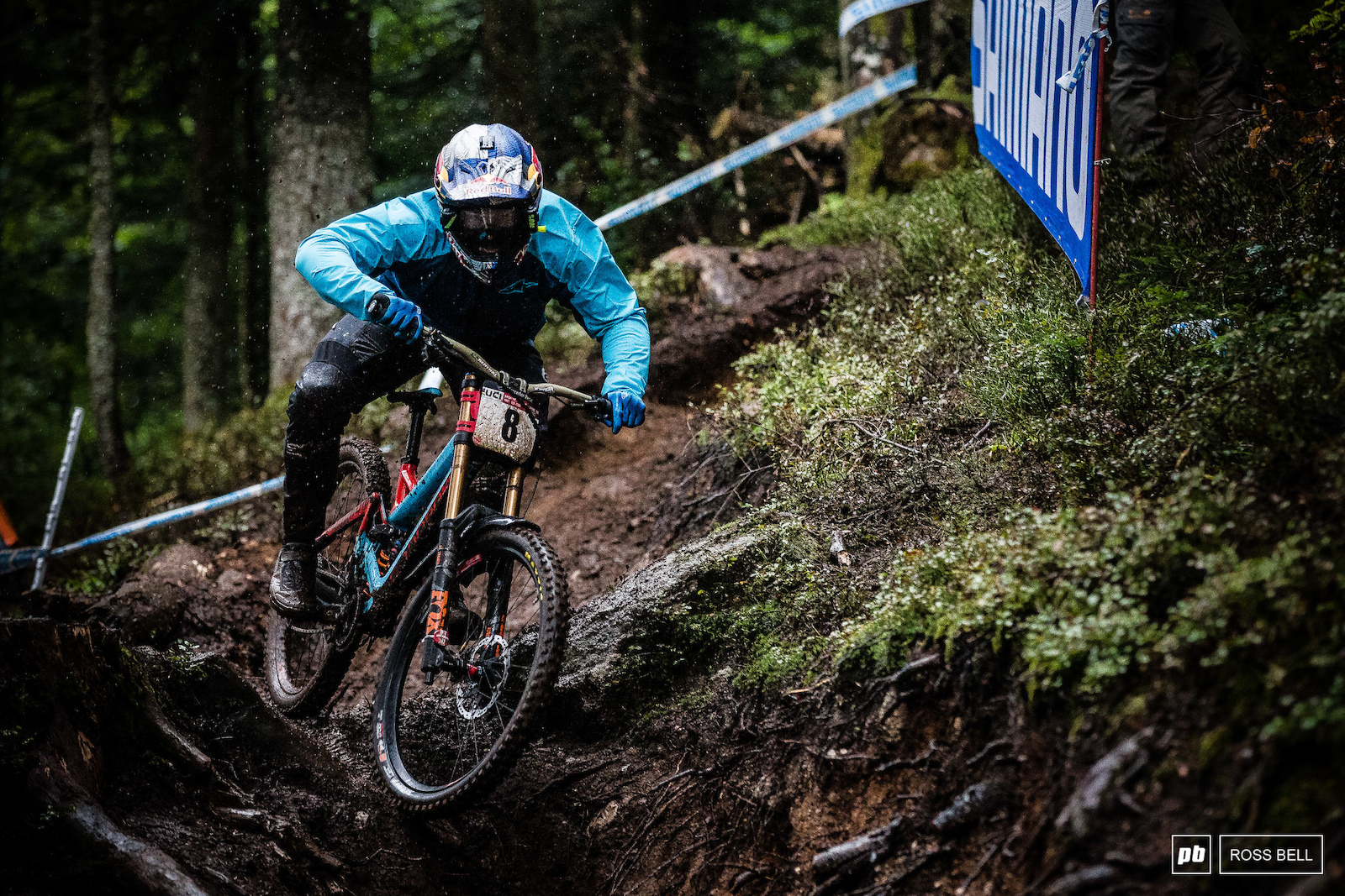 It s been so good to see Brook Macdonald battling for podiums once again his aggresive riding style is a joy to watch.