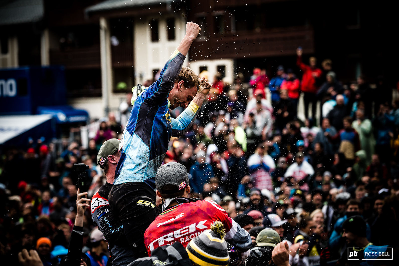 Not bad for a part timer. After winning Whistler EWS Martin Maes caused one of the biggest upsets of all time.
