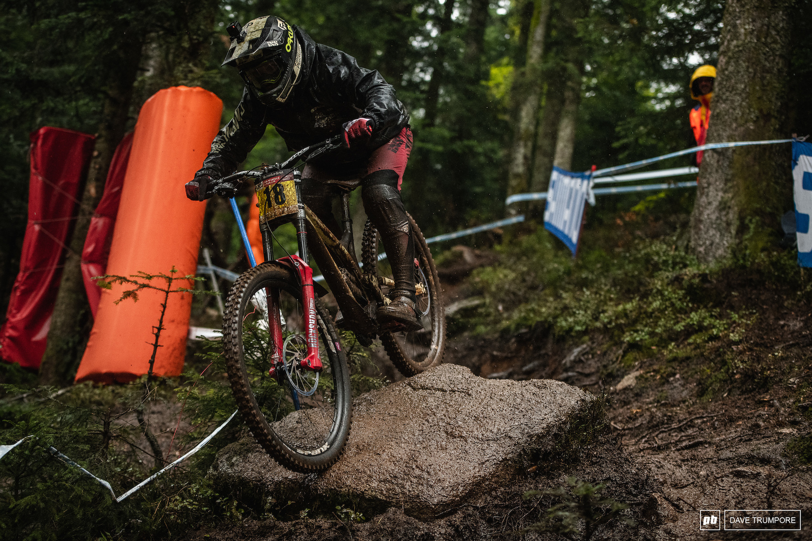 Remi Thirion lives about 30 minutes away and made the locals around by finishing on the podium in 4th.