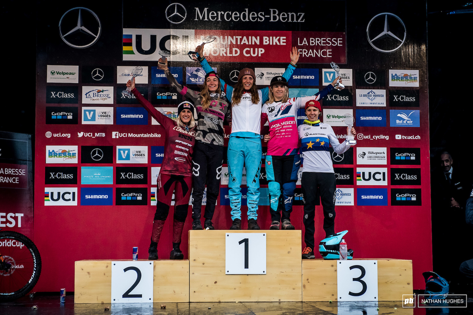 Fastest women in the Wolrd 2018 Atherton Seagrave Hannah Nicole and Hrastnik.