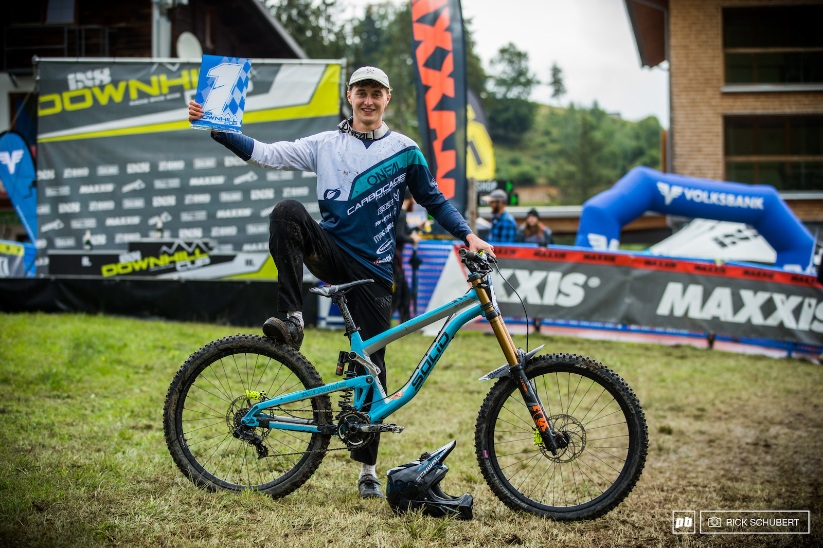 Joshua Barth is the new iXS European DH Cup champion