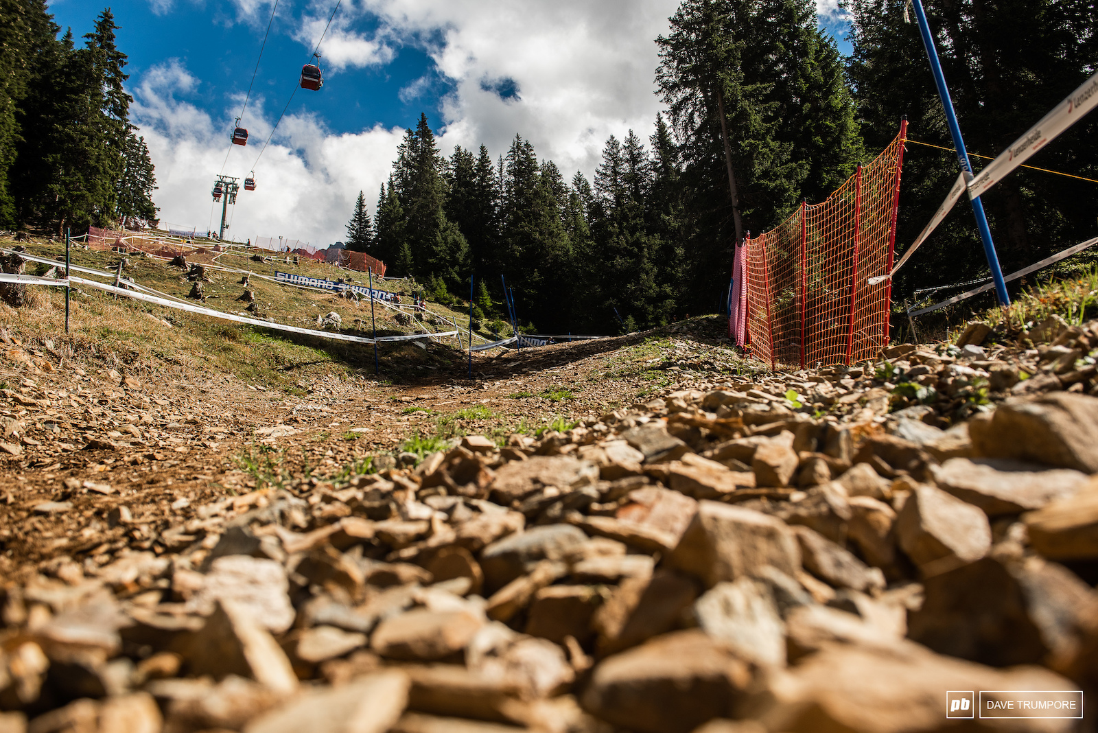 The fastest part of the track has seen it s fair share of gnarly crashes over the years.