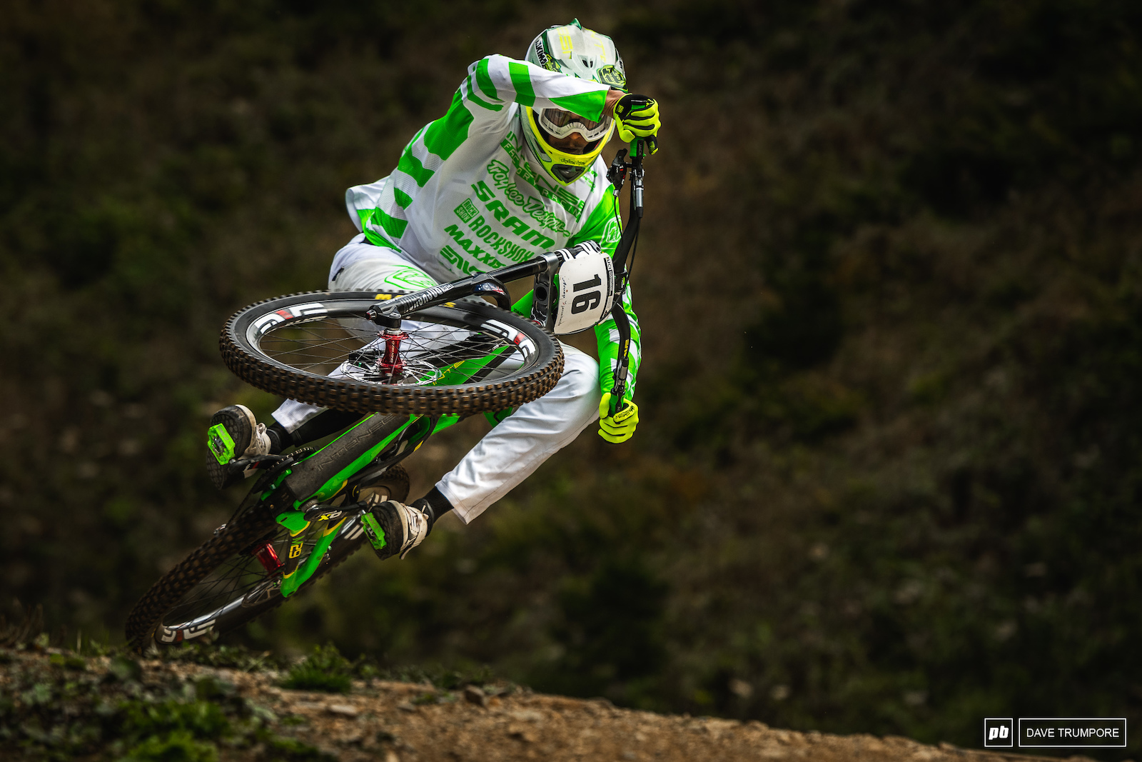 All the style for Jack Moir over the big table top mid track.