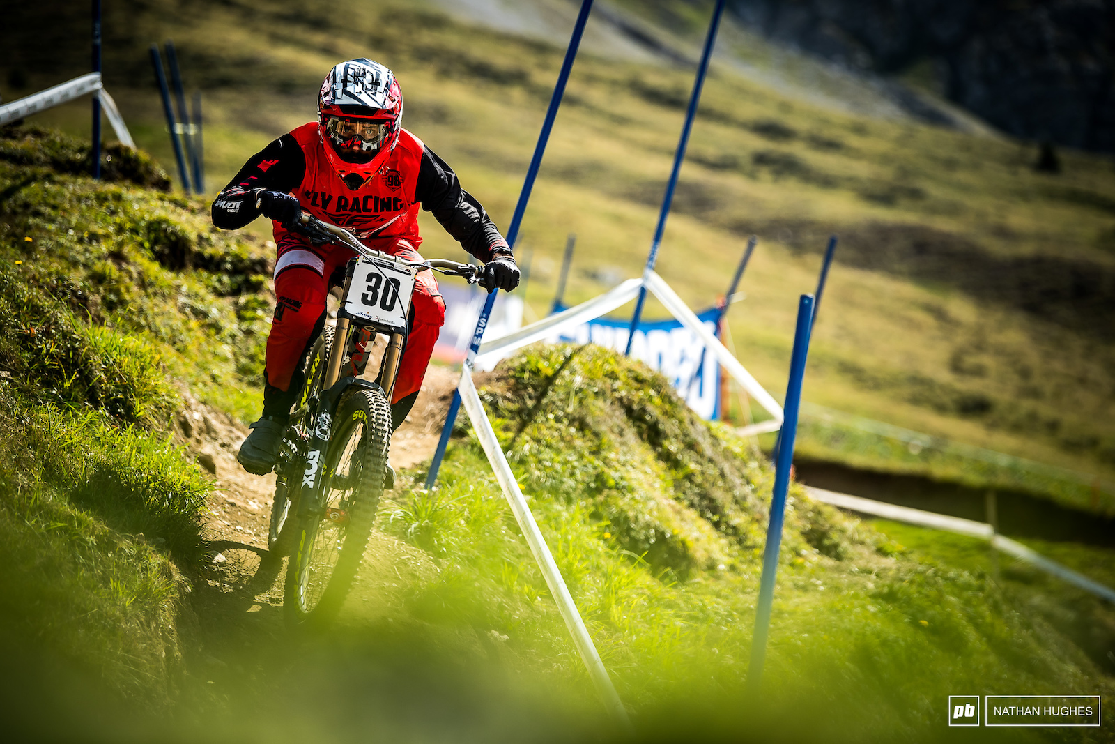 Eddie Masters is riding like a bit of a hero here in Switzerland look out for another not-so-shocking result.