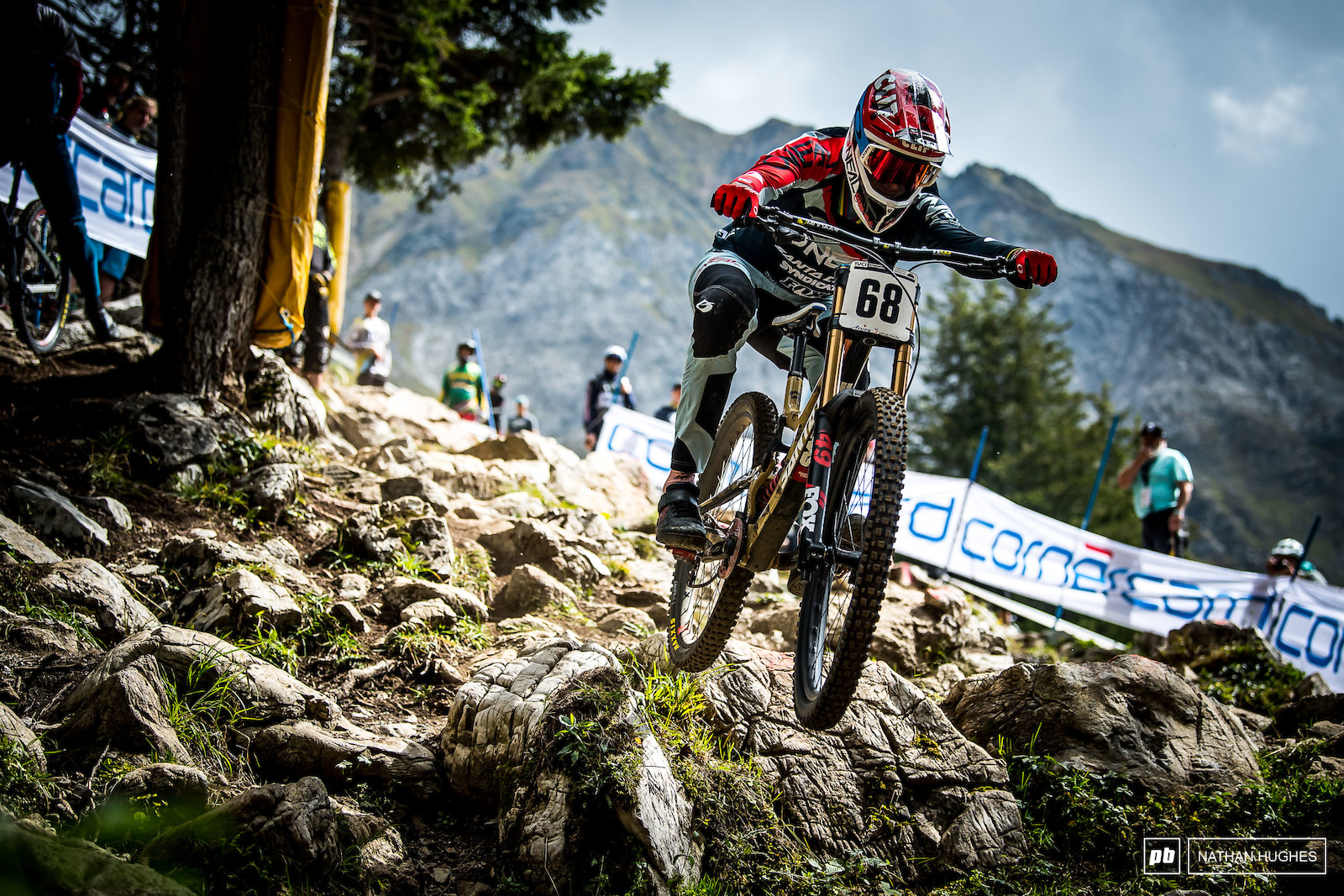 The man the myth the legend. Can the 68 plate go the distance and take his third win in Lenzerheide and his 4th gold medal