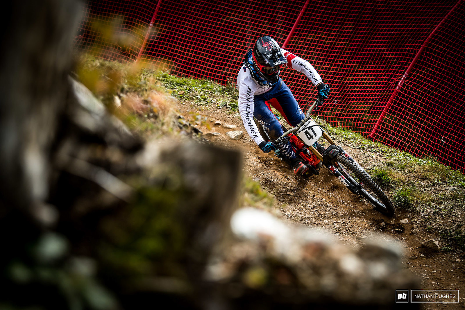 Welshman Mike Jones looking to do the GB squad proud.