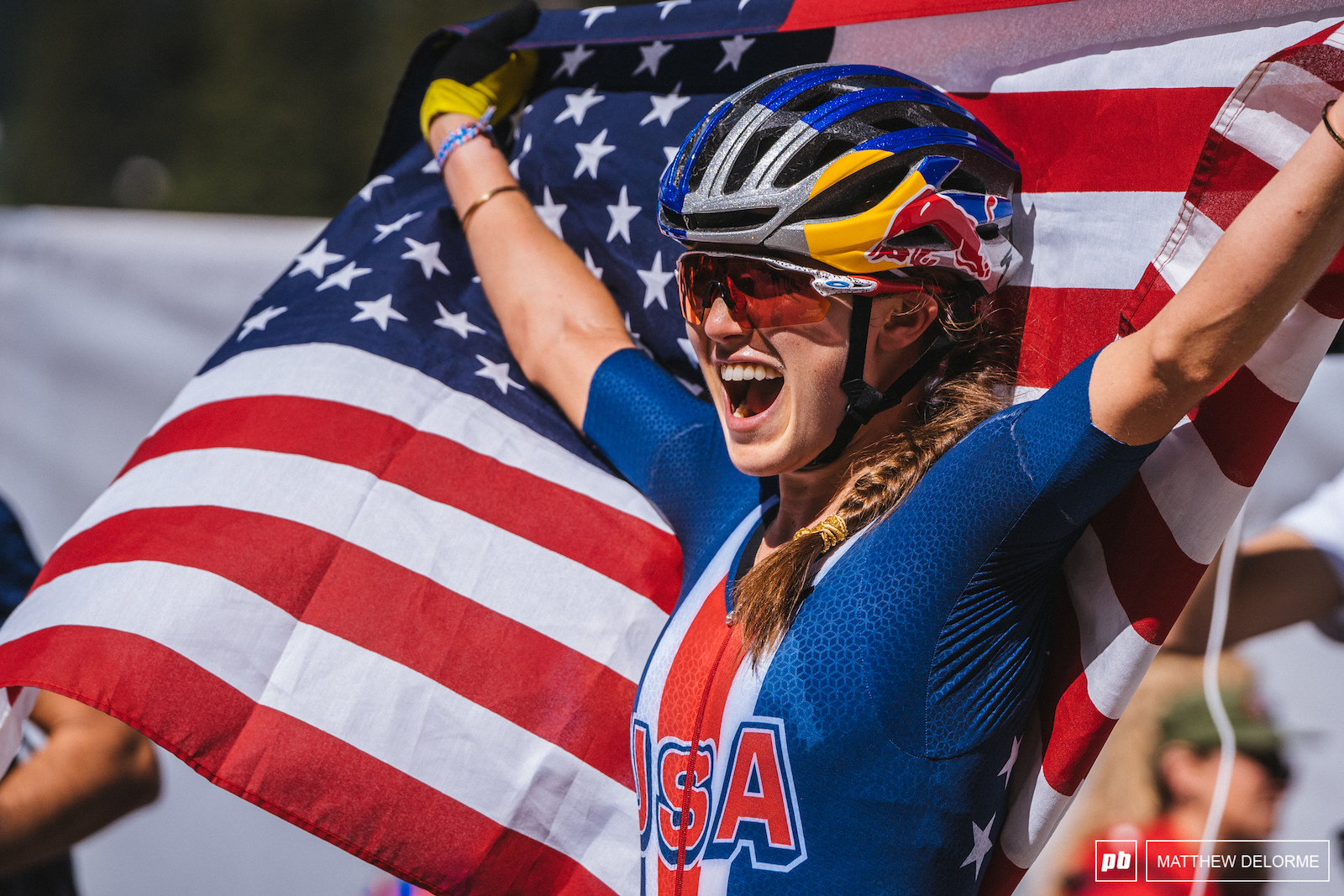 What a ride for Kate Courtney.