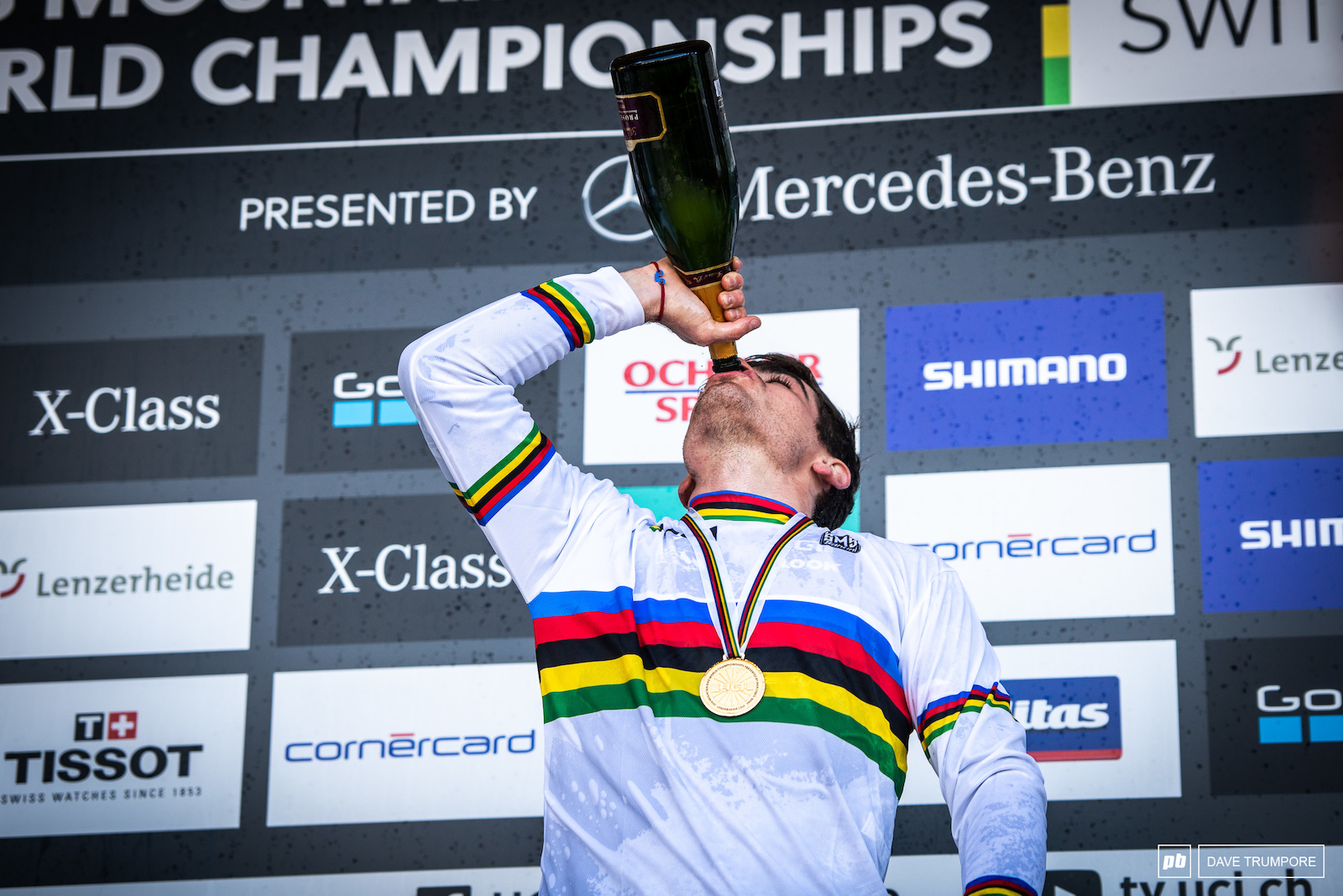 The third time being World Champ tastes as good as the first.