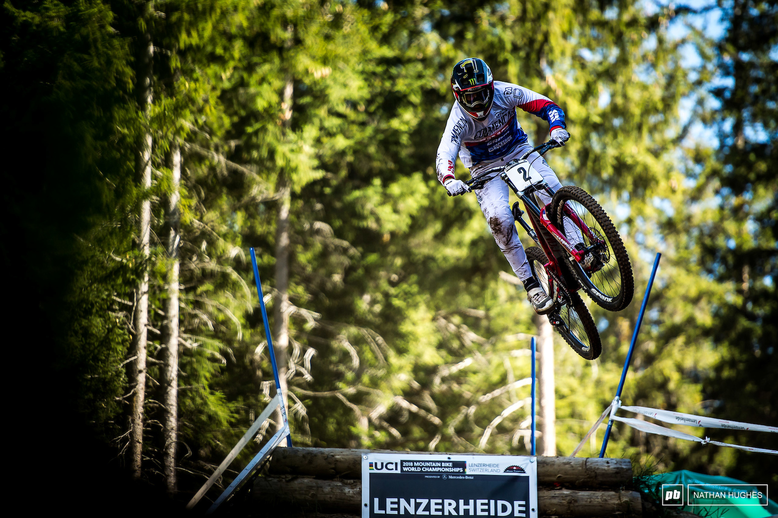 One too many crashes over the weekend spoiled Pierron s hope for gold and he finsihed his run with front flat.
