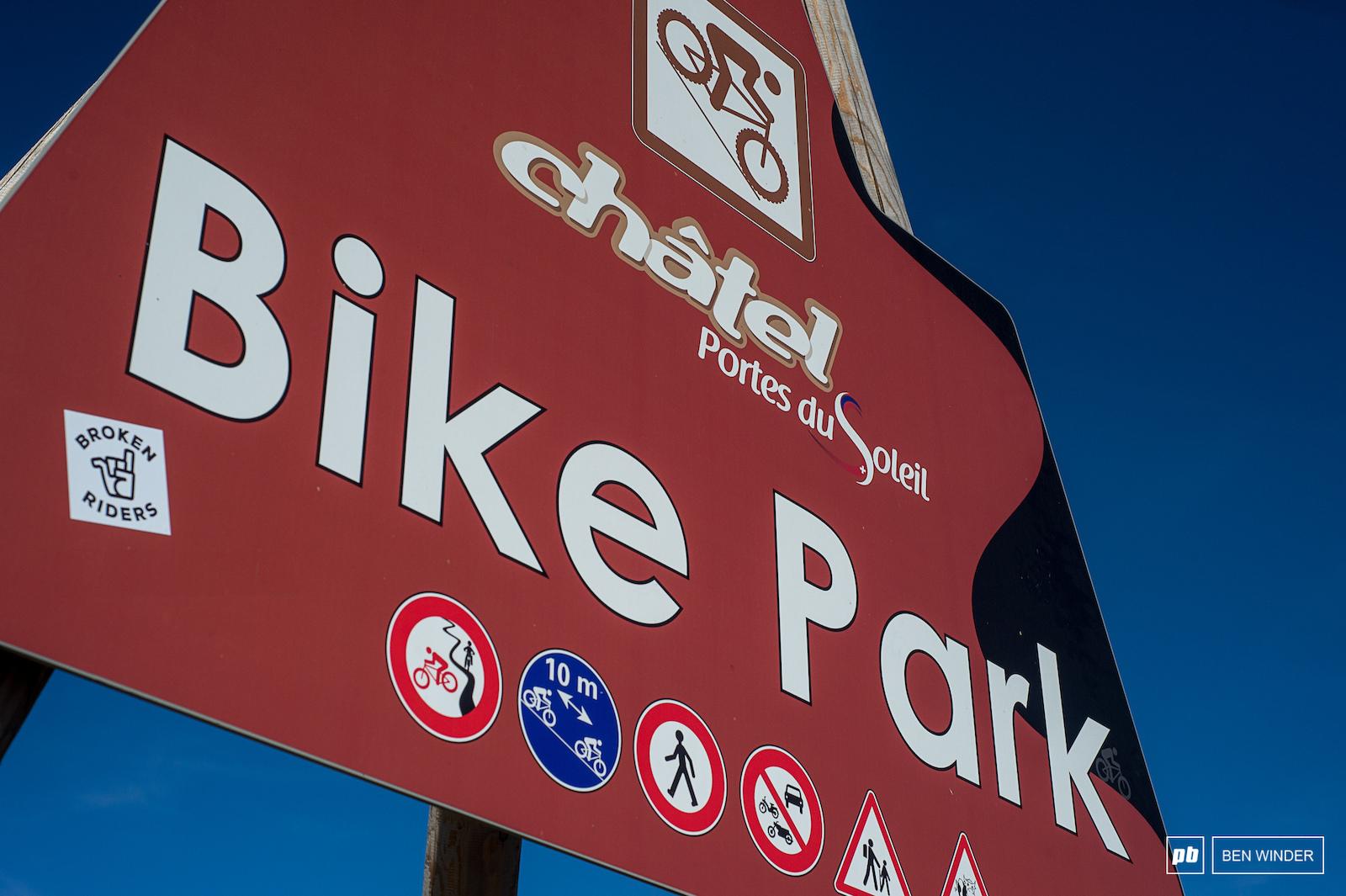 Chate Bikepark.