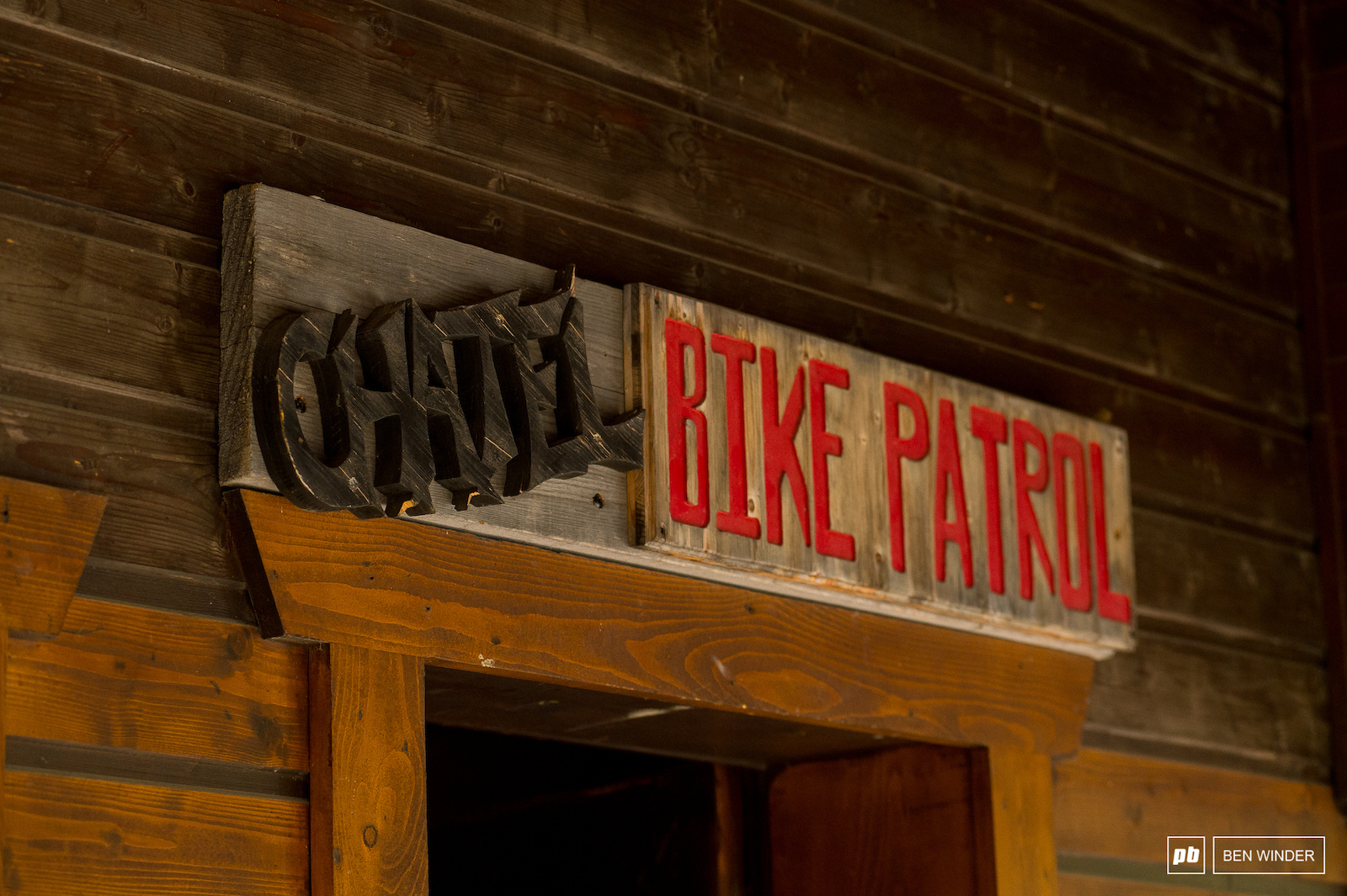 There s a full time bike patrol in Chatel who are responsible for the building and maintaining the trails but also close the trails at the end of each day to make sure no one is left stranded on the mountain.