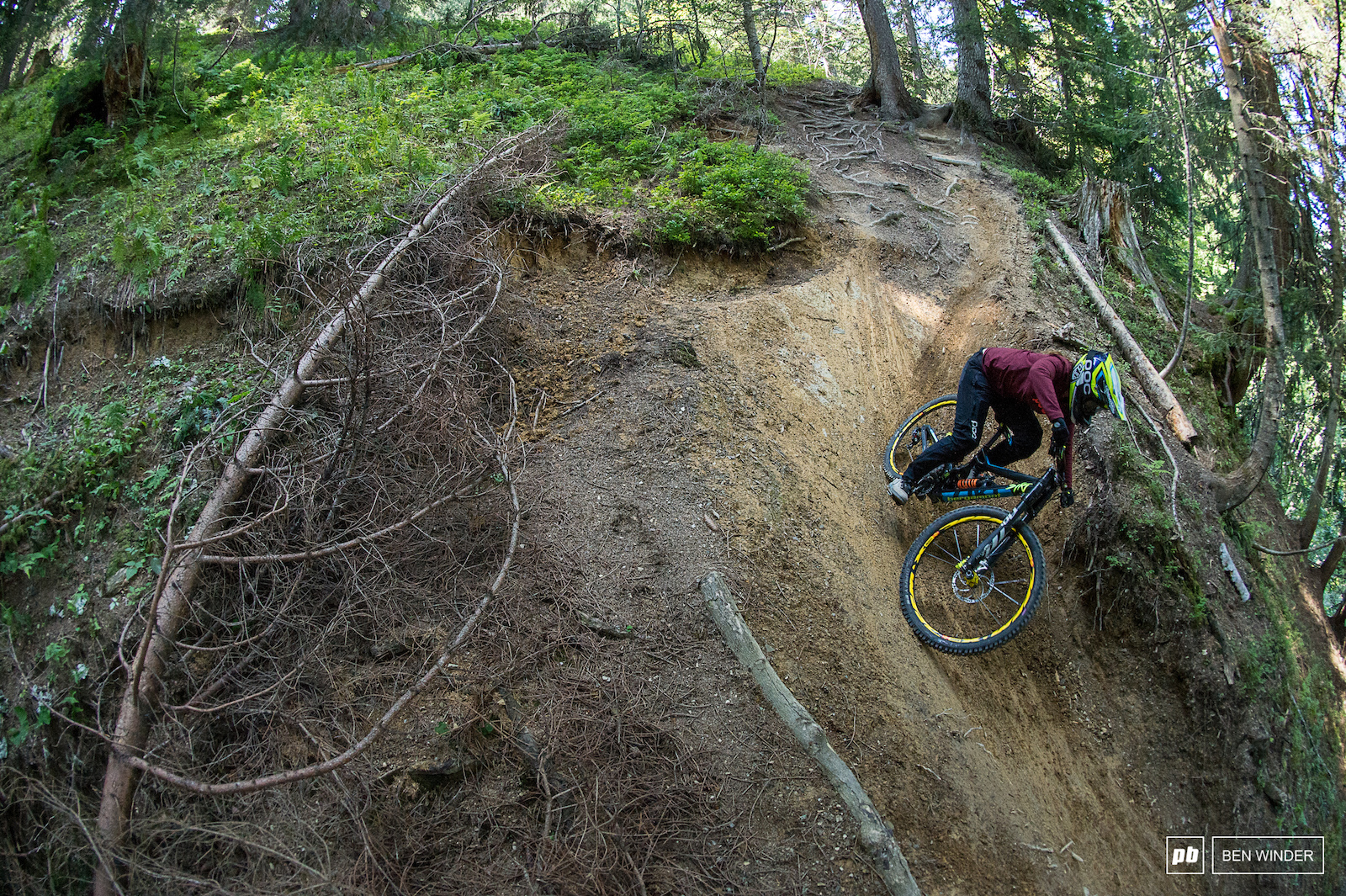Chatel is known for it s big jumps but they have a load of more natural steep technical trails.