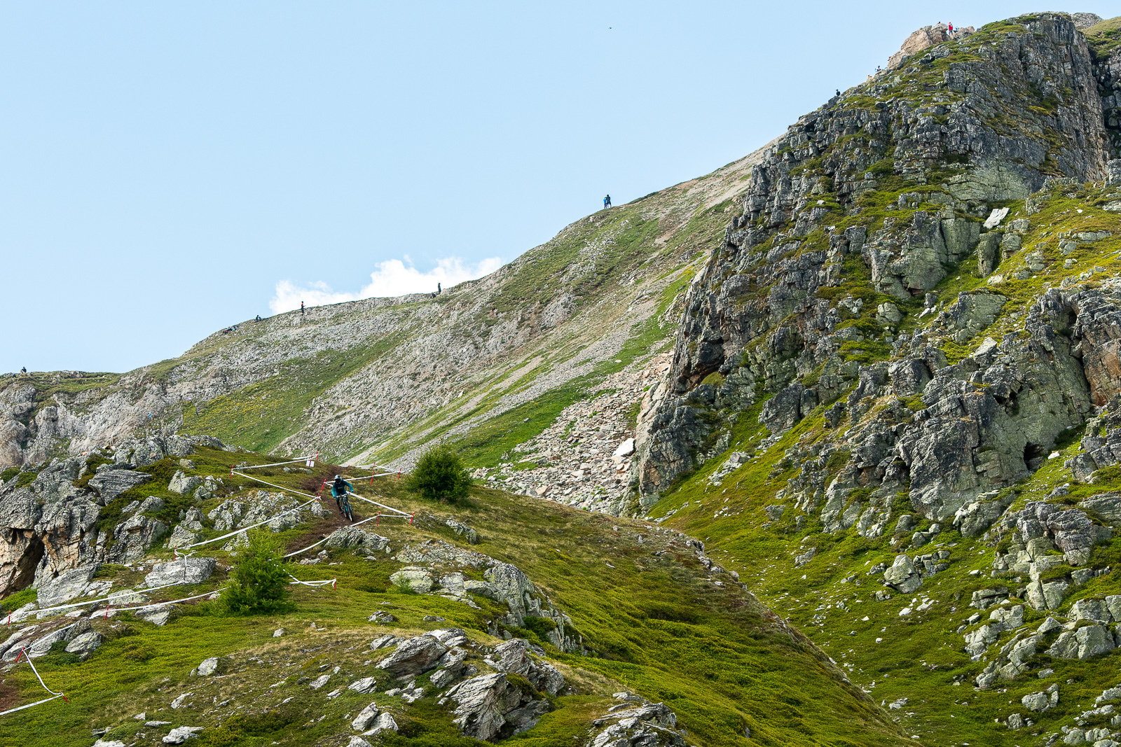 Each stage began in the low angle high alpine before diving into steep forest to the valley floor