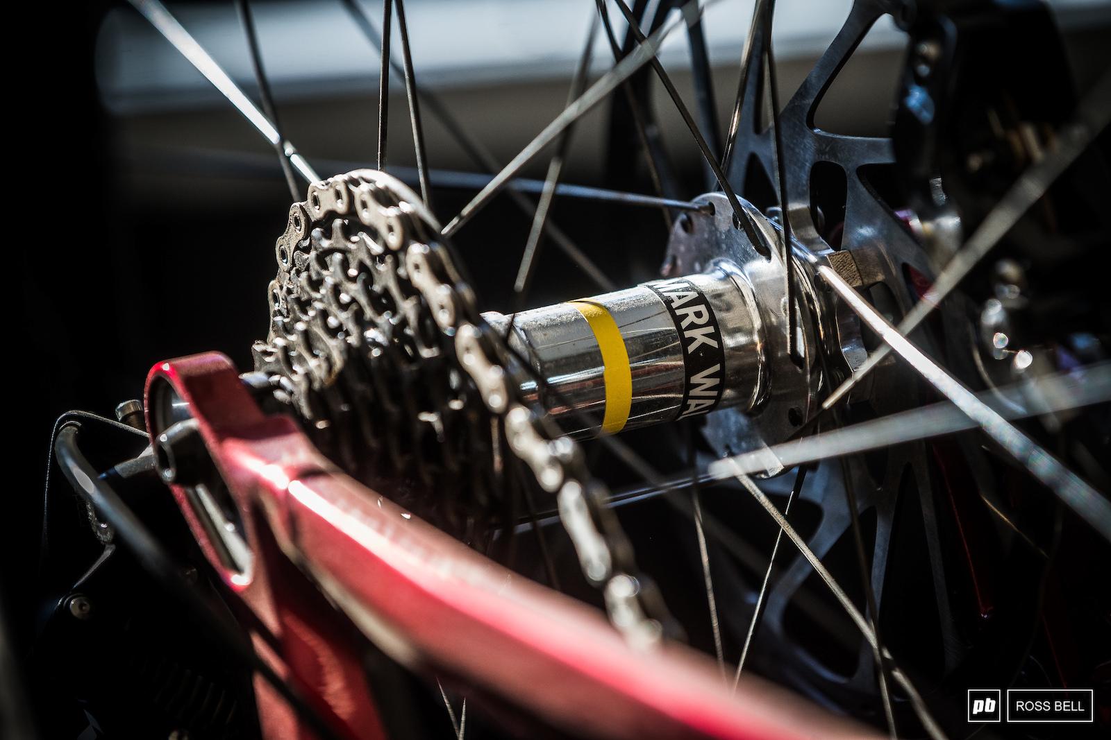 Mavic SSC DH wheels