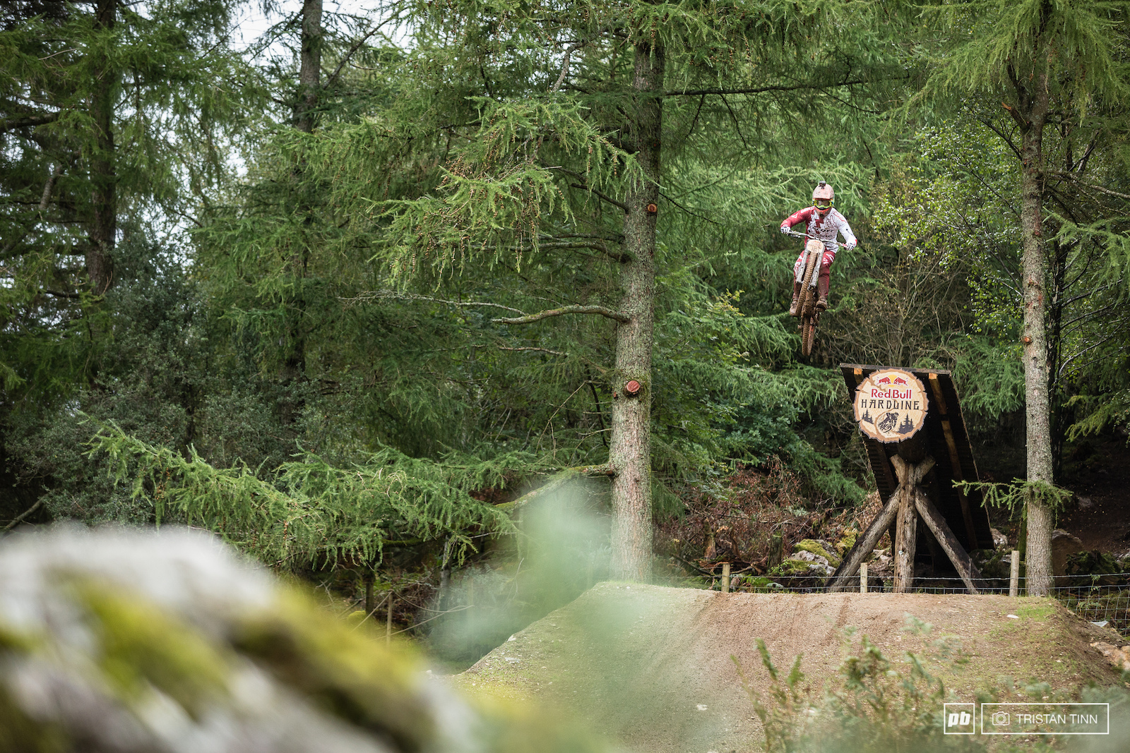 Ga tan Vig put himself out of rhythm on the last 3 jumps with a big pull out of the woods