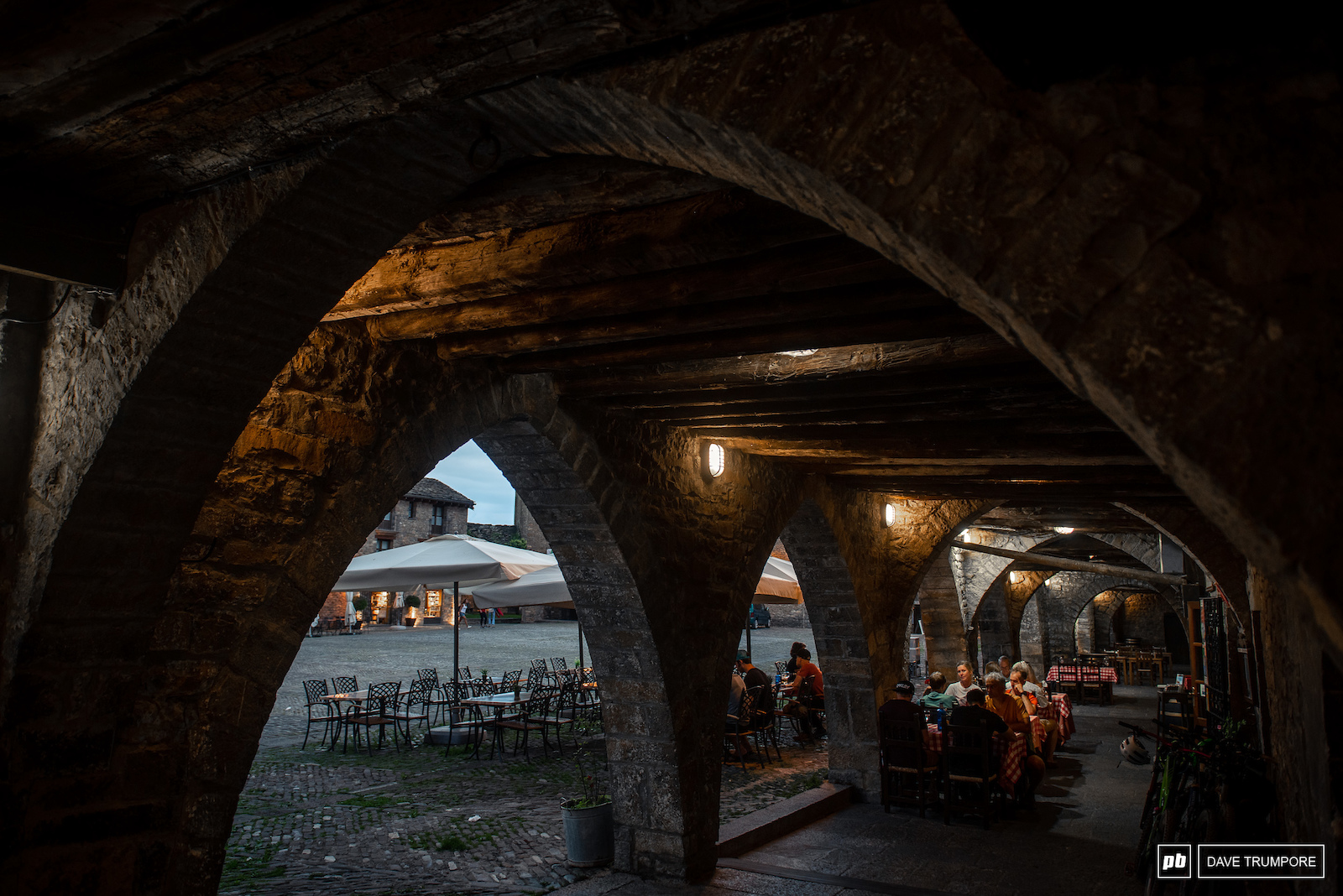 Bars and restaurants are tucked away within the intricate architecture found inside the ancient city walls.