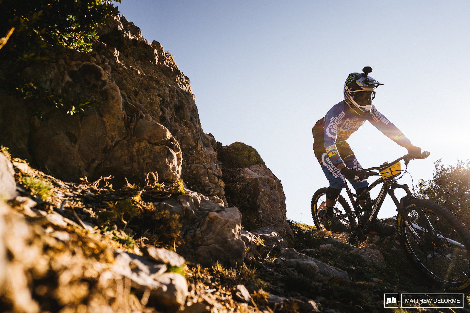 Sam Hill is still the man to beat but Martin Maes is nipping at his heels.