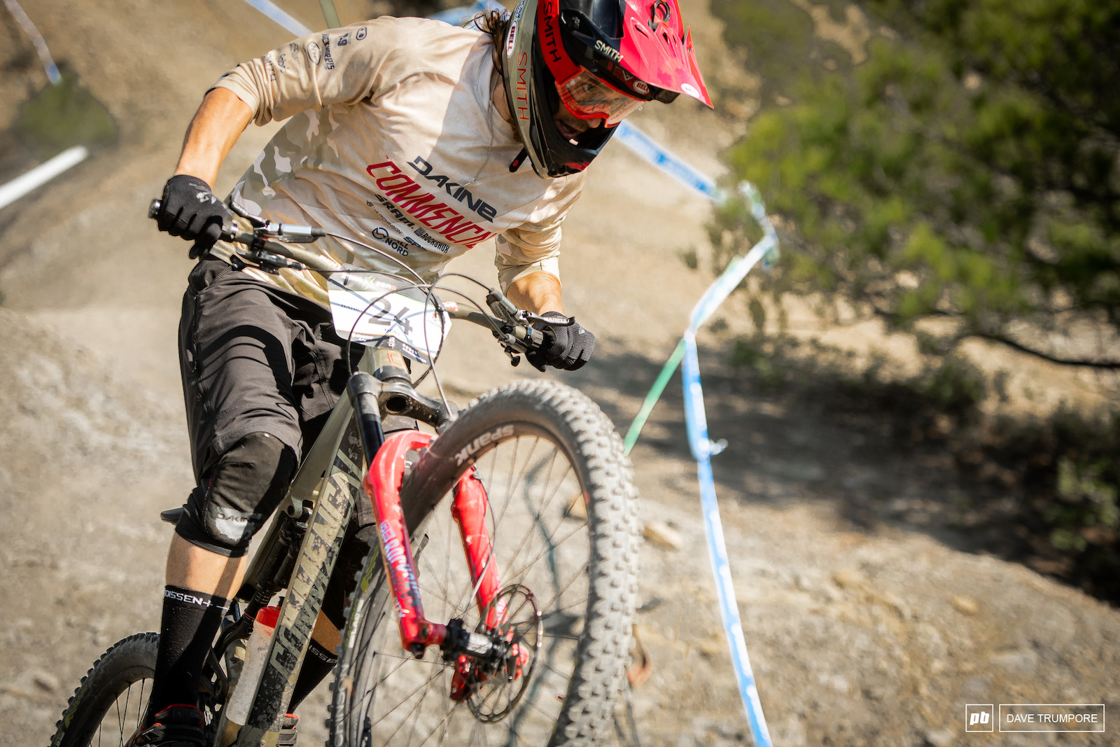 The last time the EWS stopped in Ainsa Yoann Barelli walked away with a second place trophy.