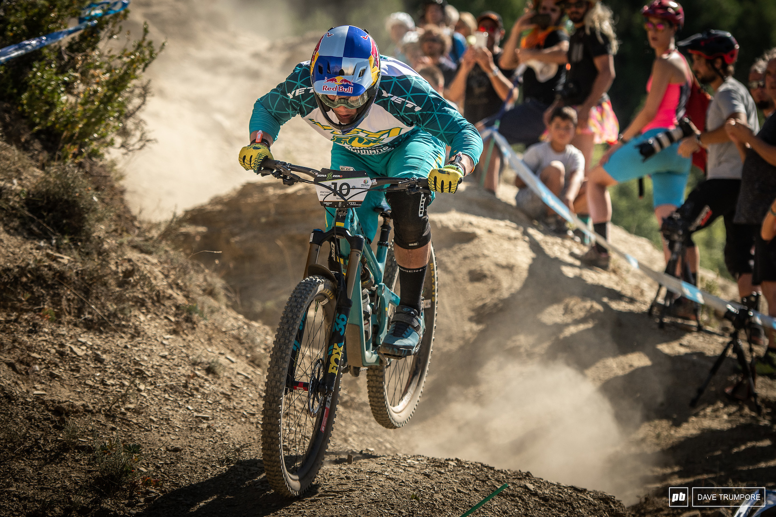 Richie Rude is riding with fire and motivation this weekend and it showed right out of the gate. He rode the first three stages of the day on another level and is definitely the favorite going into Sunday.